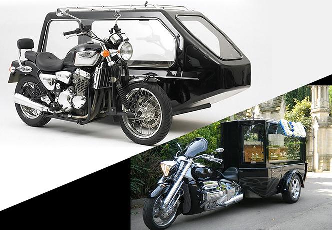 Байки из склепа: дивный мир мотоциклетных катафалков