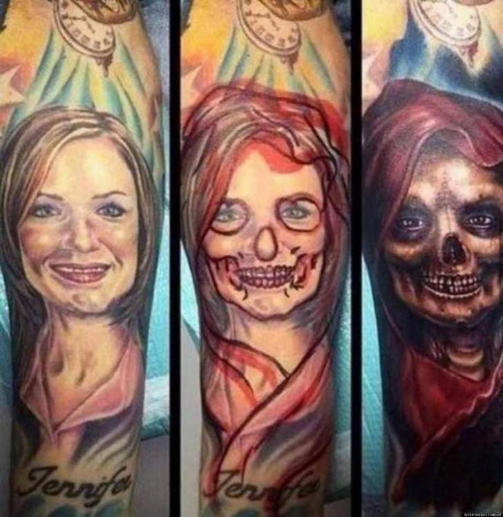 Фото №4 - 10 попыток исправить татуировки с именами и лицами бывших