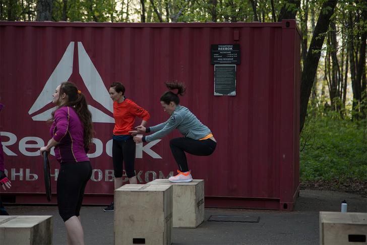 Состоялась первая тренировка «Reebok. Стань человеком». Команда MAXIM тоже участвовала!