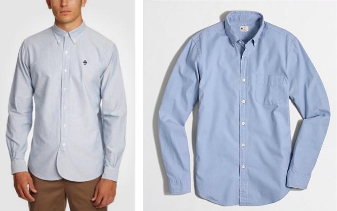 Белые или голубые рубашки