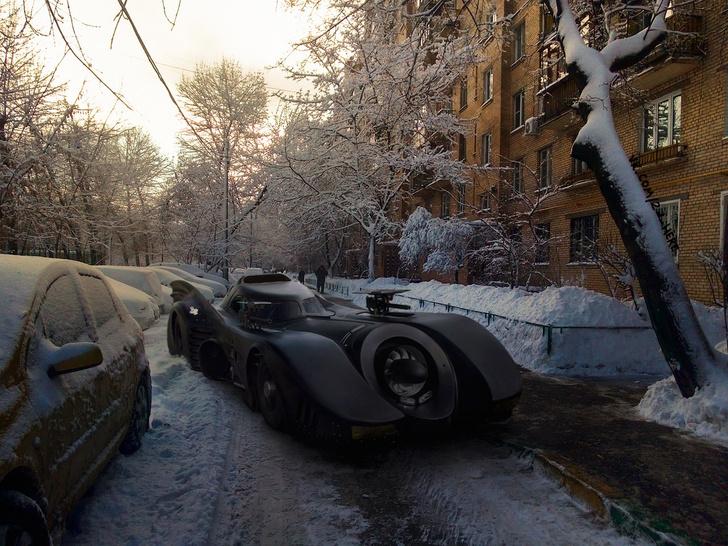 Фото №26 - Вот что получилось бы, если бы голливудские фильмы снимали в России!