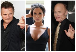 Лиам Нисон, Эд Харрис и Дженезис Родригез готовят тебя к походу в кино