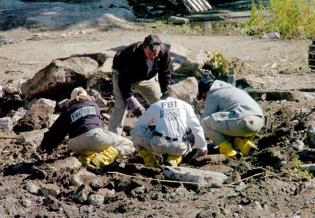 Поиск останков Джона Фаваро, соседа семьи Готти в Куинсе. 2004 г.