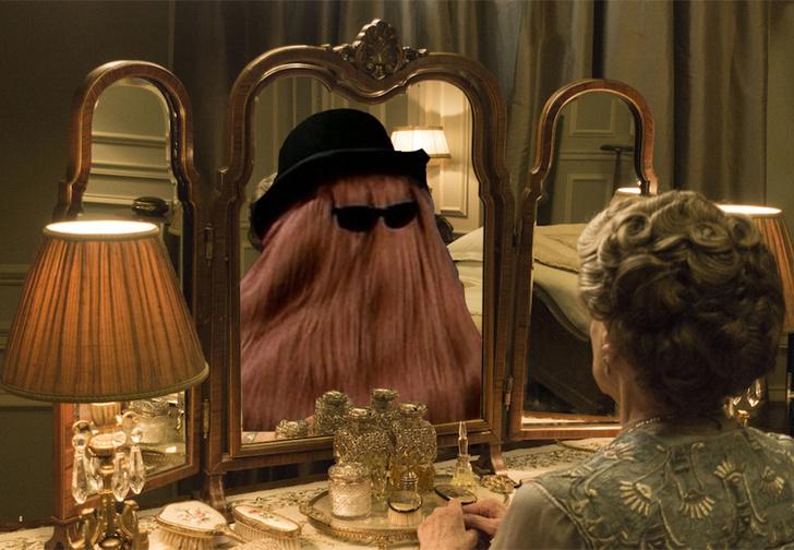 Фото №1 - Это волосатое зеркало согреет и распотешит тебя и твое второе я! ВИДЕО