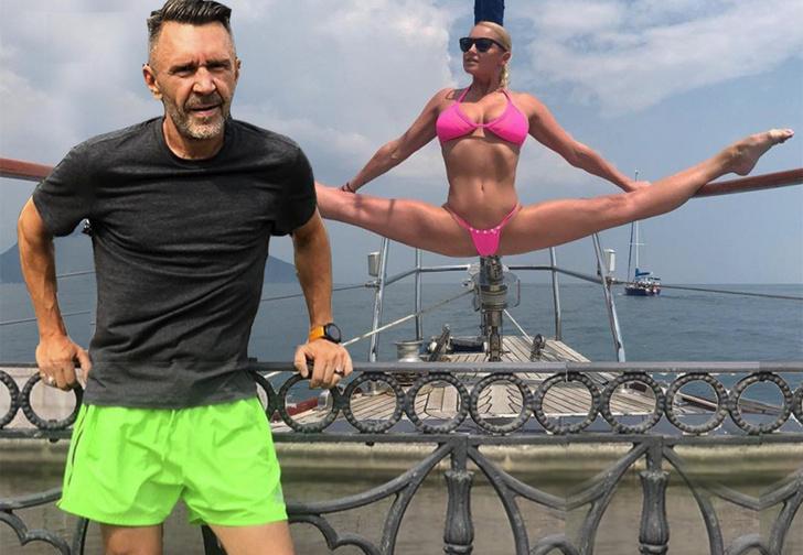 Фото №1 - Шнуров и Волочкова сошлись в стихотворном баттле из-за шпагата