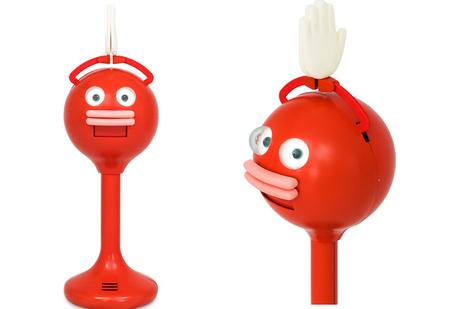 Самый беcсмысленный (но милый) японский робот (ВИДЕО)