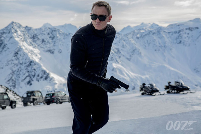 Фото №1 - Первый кадр с Бондом из нового «007: Спектр»