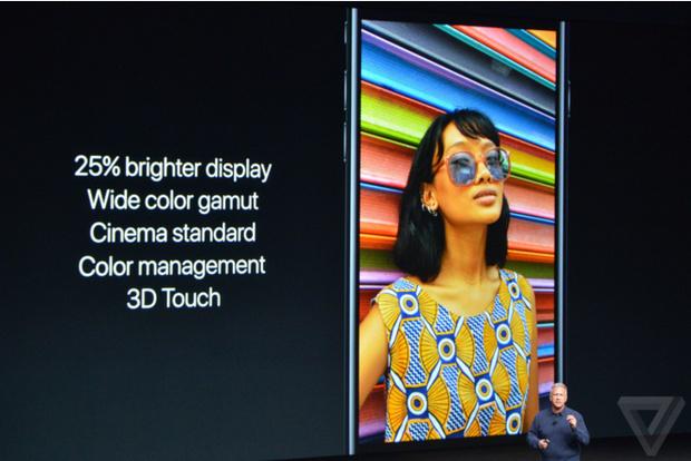 Дисплей нового iPhone 7
