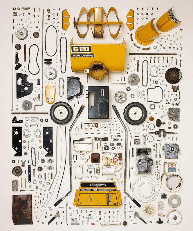 Фото №3 - 10 предметов, разобранных на части: от бензопилы до огнетушителя