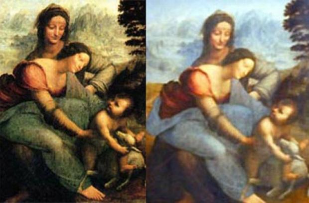 Фото №7 - Пушистый Иисус, Губка Боб, перекошенная нимфа и еще 10 примеров неудачной реставрации