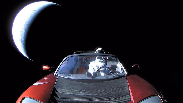 Фото №1 - Как следить за Tesla в космосе