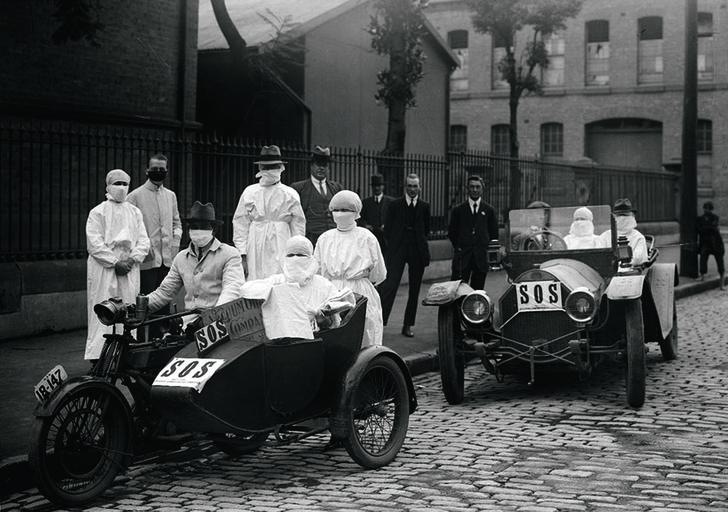 Эпидемия вАвстралии. 1919 год