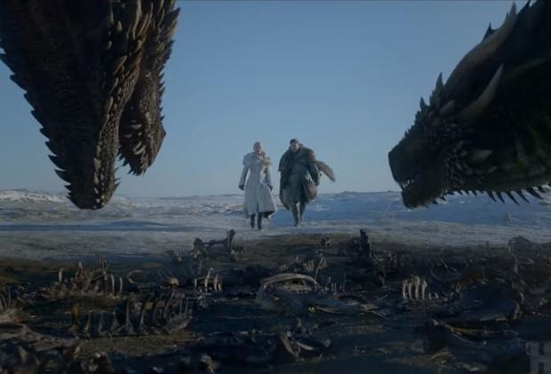 Фото №1 - Альтернативный финал 2-й серии 8-го сезона «Игры престолов» от ироничного монтажера (видео)