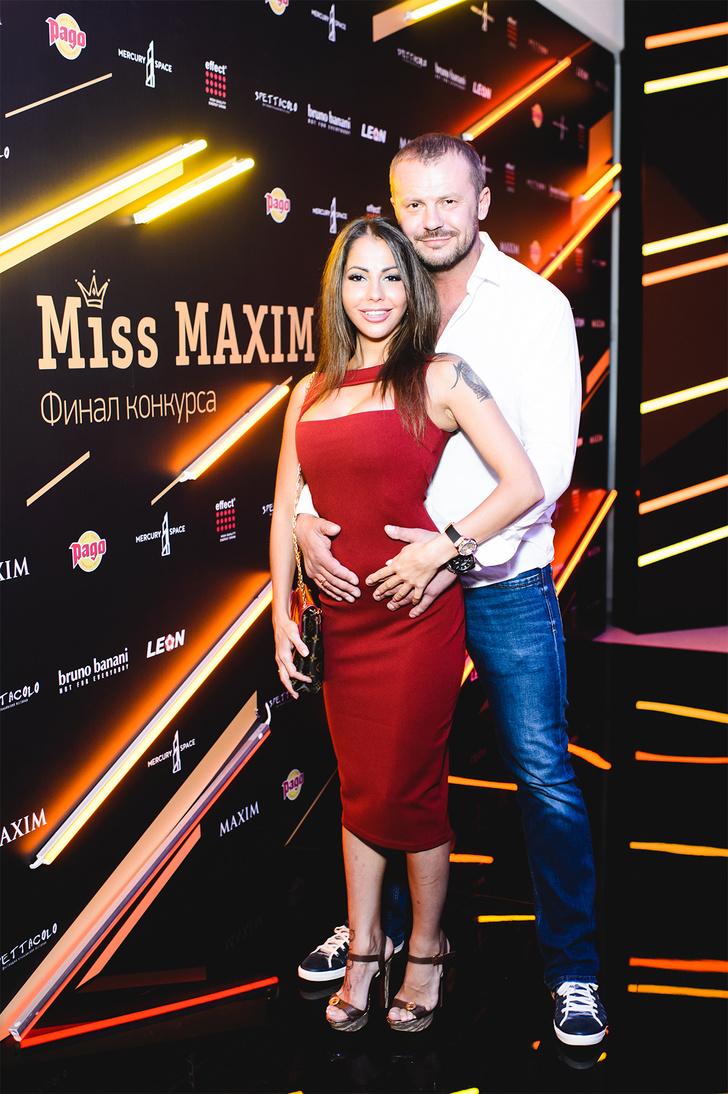 Елена Беркова с супругом