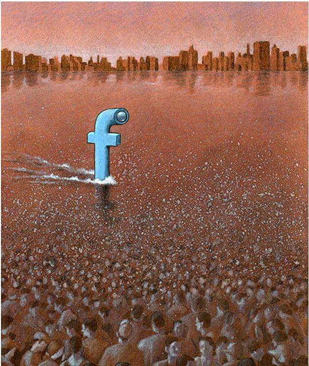 Фото №7 - Вся правда о «Фейсбуке» от карикатуриста Павла Кучински