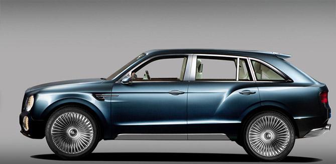 Фото №2 - Автомобиль месяца: Bentley EXP 9 F. Верх комфорта, роскоши, интеллекта и цинизма