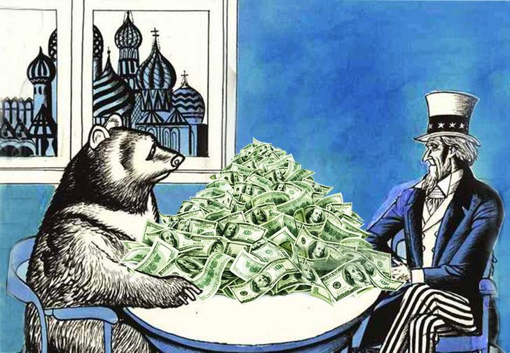 Фото №1 - Вот сколько денег должны России все страны со времен СССР