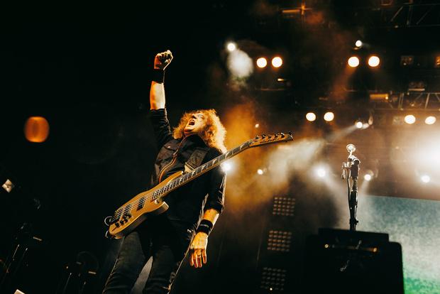 Фото №31 - Megadeth подняли температуру в Москве — посмотри и приобщись!