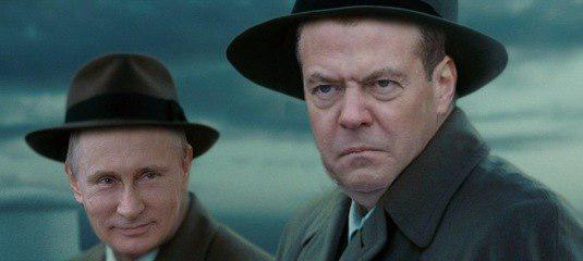 Фото №5 - Избранные шутки о грустном Медведеве под дождем