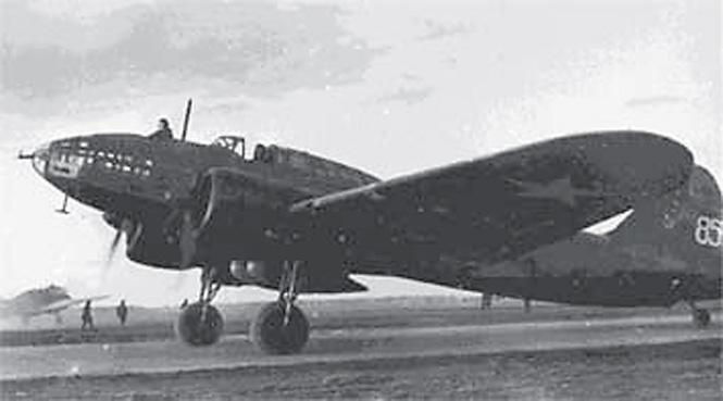 Бомбардировщик ДБ-3Ф