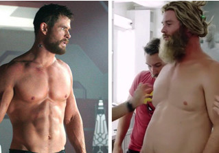 Крис Хемсворт рассказал, как тяжело было стать «толстым» Тором в «Мстителях. Финал»