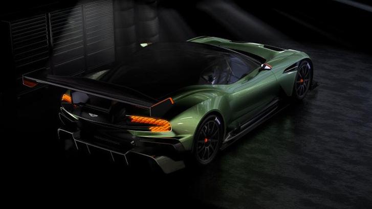 Фотографии Aston Martin Vulcan