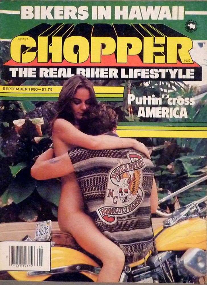 Фото №3 - Сексуальные девушки байкеров из 1980-х!