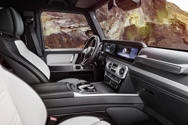 Фото №5 - Внедорожник Mercedes-Benz G-Класса: хорош, как никогда раньше