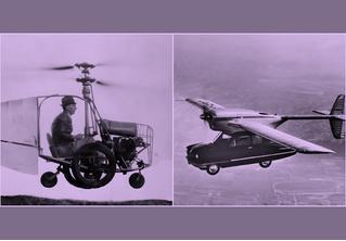 Летающие автомобили из прошлого, которые реально существовали
