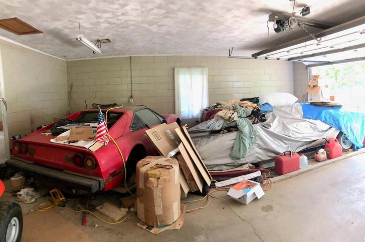 Фото №5 - Девушка нашла у бабули в гараже редкий Lamborghini, пылившийся там лет двадцать (фото прилагаются)