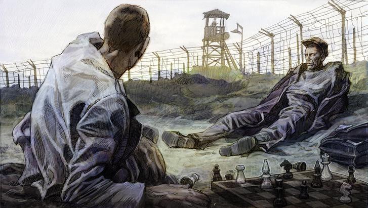 Фото №1 - История легендарного побега из казахстанского лагеря