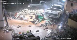 Пикап-мастер: посмотри, как утонченно и филигранно грабители украли банкомат (ВИДЕО)