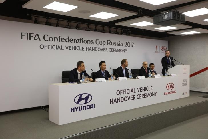 Фото №2 - Hyundai передаёт автомобили оргкомитету Кубка Конфедераций FIFA 2017