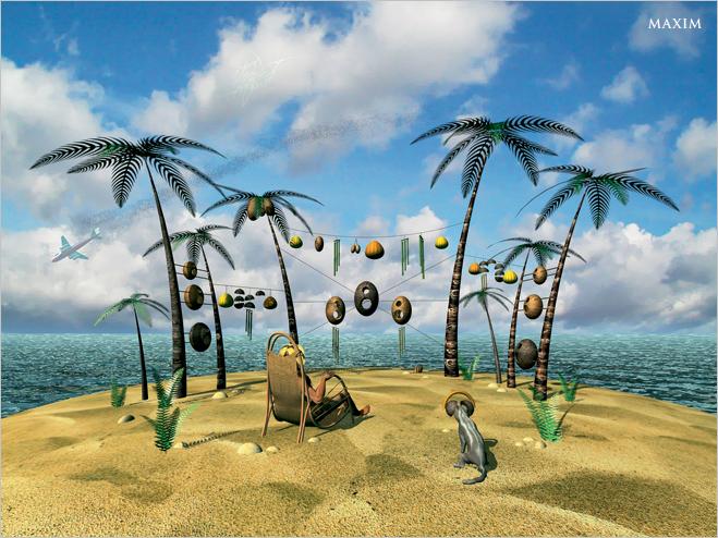 Фото №5 - Как очень комфортно выжить нанеобитаемом острове