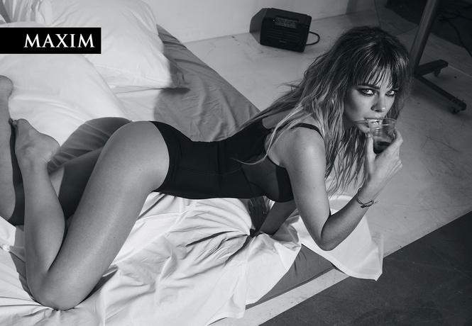 Долгое утро! Актриса Анна Старшенбаум в ошеломляющей черно-белой фотосессии