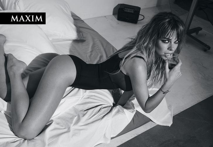 Фото №1 - Долгое утро! Анна Старшенбаум в ошеломляющей черно-белой фотосессии