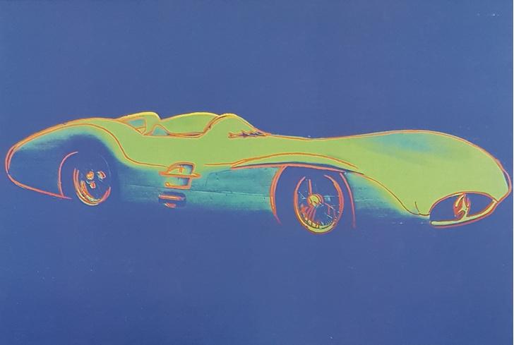 Фото №1 - «Любимая машина Энди Уорхола»: выставка легендарного художника пройдет в салоне Mercedes-Benz