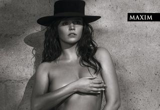 Снимаем шляпу! Актриса Янина Мелехова в новейшей фотосессии MAXIM