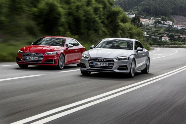Фото №1 - Быстрее, выше, сильнее: спортивные новинки  Audi A5 и Audi S5 Coupé