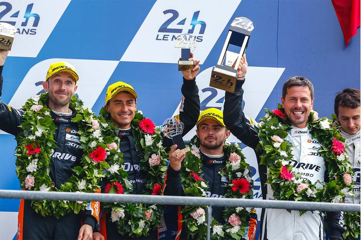 Самая сбалансированная и сплоченная в этом сезоне команда G-Drive Racing!