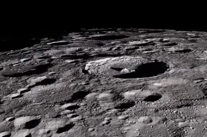 Фото №1 - Крутое ВИДЕО поверхности Луны в мельчайших  деталях! Лучше, чем с твоего балкона!