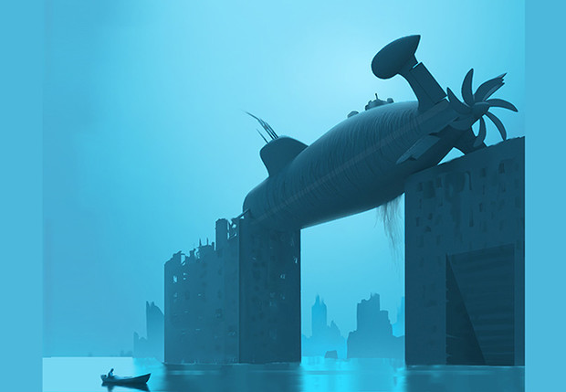 Фото №1 - Художник недели: монстры, боги и девушки Стивена Сталберга