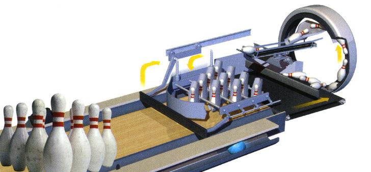 Фото №3 - Как это работает: механизм боулинга