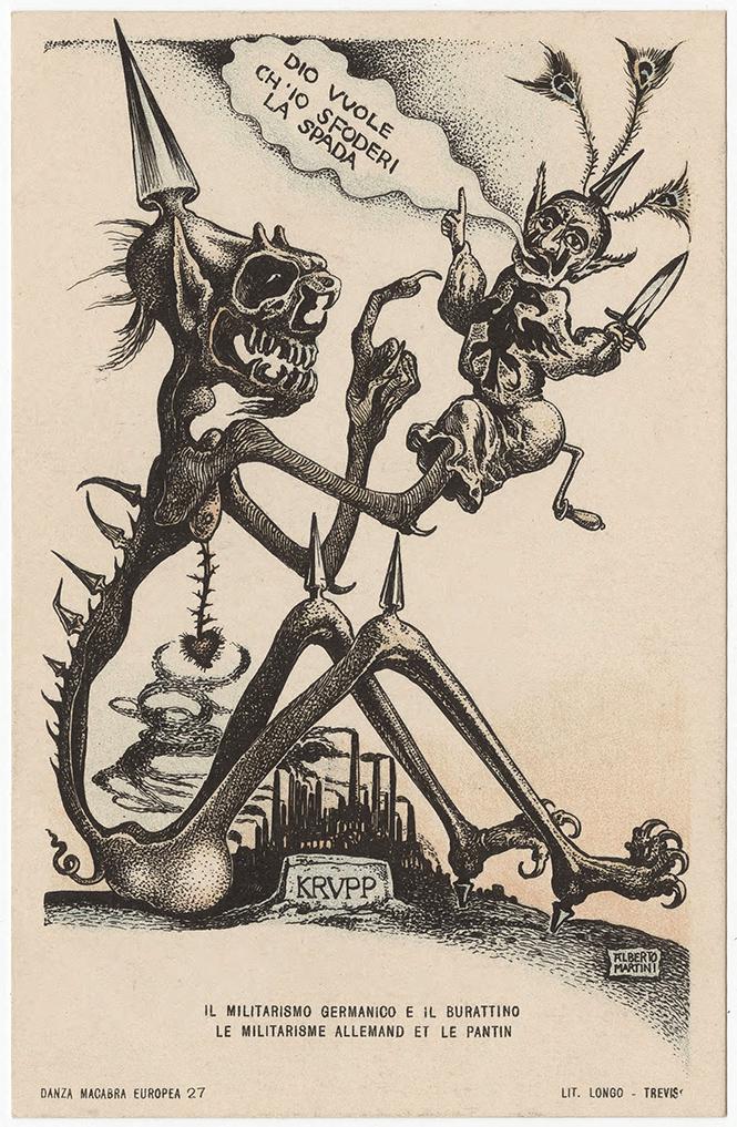 Фото №17 - Жутковатые карикатуры Первой мировой
