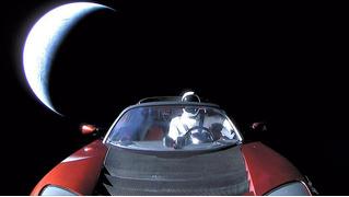 Как следить за Tesla в космосе