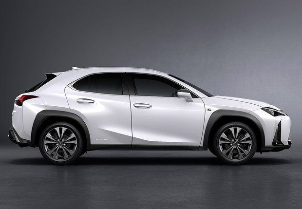 Фото №1 - Спортслово: кроссовер Lexus UX
