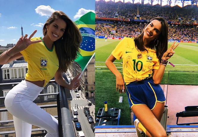 Фото №3 - Бразильские супермодели на ЧМ-2018, дочка Арнольда Шварценеггера и другие самые соблазнительные девушки этой недели
