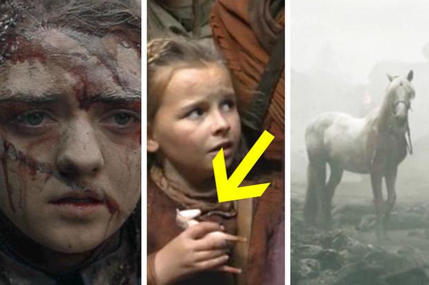 Фото №3 - Вот что значит белая лошадь, которую встретила Арья в финале пятой серии «Игры престолов»