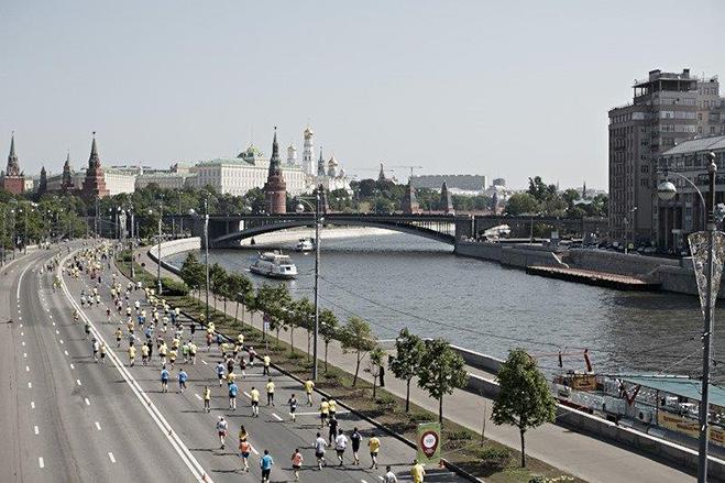 Московский Марафон 2015 маршрут