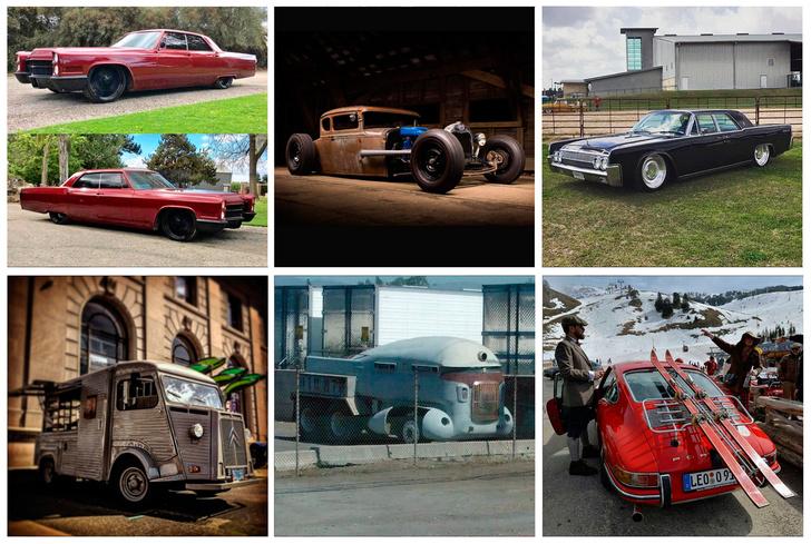 Фото №1 - Пять отличных автомобильных «Инстаграмов»